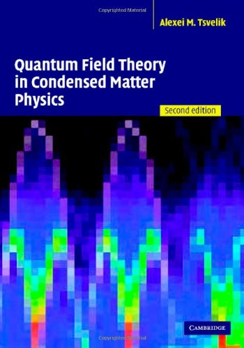 9780521822848: Quantum Field Theory in Condensed Matter Physics