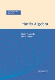9780521822893: Matrix Algebra