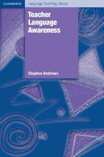 9780521823180: Teacher Language Awareness (Cambridge Language Teaching Library)