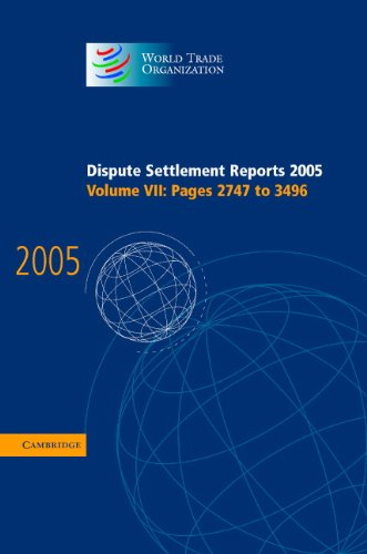 9780521823227: Dispute Settlement Reports Complete Set 178 Volume Hardback Set: Volumes 1996–2013