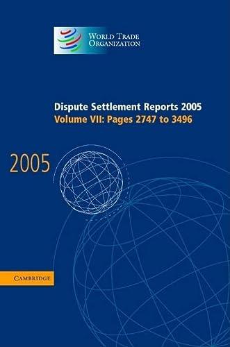 9780521823227: Dispute Settlement Reports Complete Set 178 Volume Hardback Set: Volumes 1996-2013 (World Trade Organization Dispute Settlement Reports) (v. 1-43)