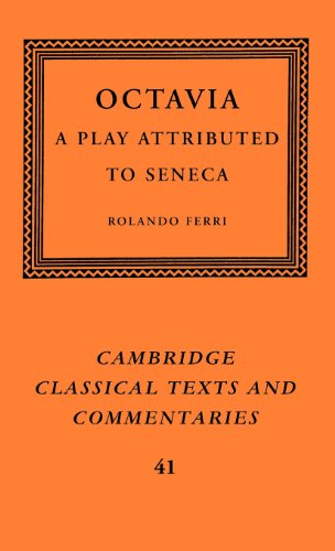 9780521823265: Octavia: A Play Attributed to Seneca (Cambridge Classical Texts and Commentaries)