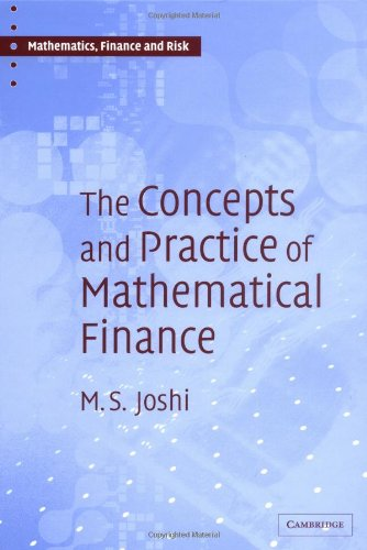 9780521823555: The Concepts and Practice of Mathematical Finance (Mathematics, Finance and Risk)