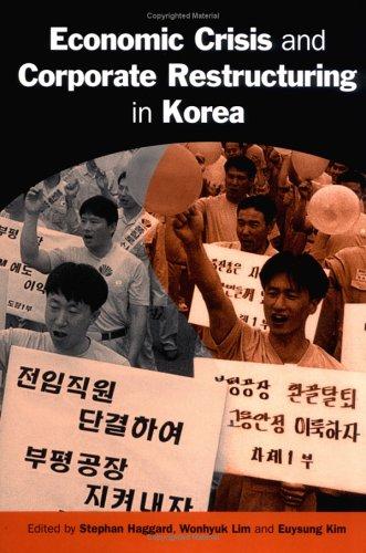 9780521823630: Economic Crisis and Corporate Restructuring in Korea: Reforming the Chaebol (Cambridge Asia-Pacific Studies)