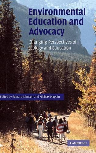 9780521824101: Environmental Education and Advocacy: Changing Perspectives of Ecology and Education
