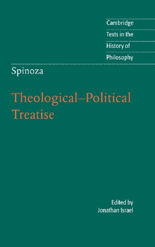 Spinoza: Theological-Political Treatise (Cambridge Texts in the