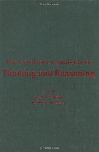 9780521824170: The Cambridge Handbook of Thinking and Reasoning