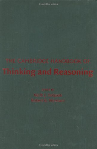 9780521824170: The Cambridge Handbook of Thinking and Reasoning (Cambridge Handbooks in Psychology)