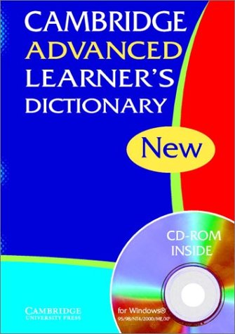 9780521824231: Cambridge Advanced Learner's Dictionary HB with CD-ROM