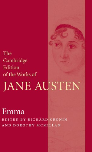 9780521824378: The Cambridge Edition of the Works of Jane Austen 9 Volume Hardback Set: Emma