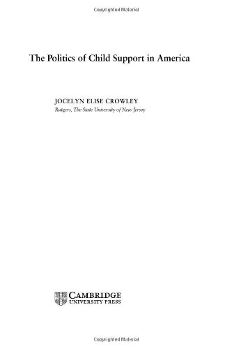 9780521824606: The Politics of Child Support in America