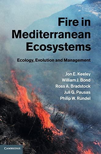 9780521824910: Fire in Mediterranean Ecosystems Hardback