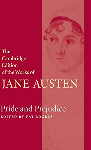 9780521825146: The Cambridge Edition of the Works of Jane Austen 9 Volume Hardback Set: Pride and Prejudice Hardback
