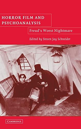 9780521825214: Horror Film and Psychoanalysis: Freud's Worst Nightmare (Cambridge Studies in Film)