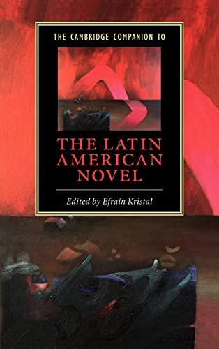 9780521825337: The Cambridge Companion to the Latin American Novel Hardback (Cambridge Companions to Literature)