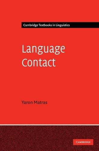 9780521825351: Language Contact Hardback (Cambridge Textbooks in Linguistics)