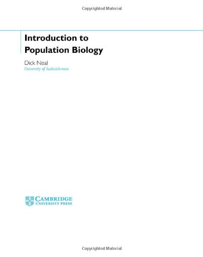 9780521825375: Introduction to Population Biology