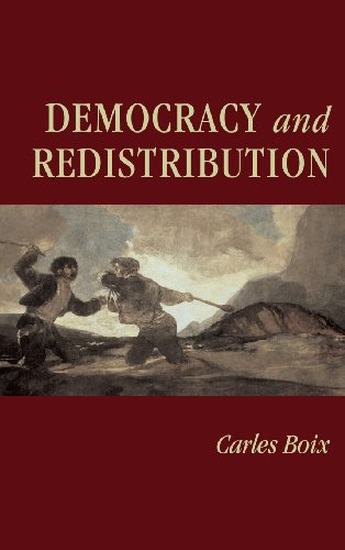 9780521825603: Democracy and Redistribution (Cambridge Studies in Comparative Politics)