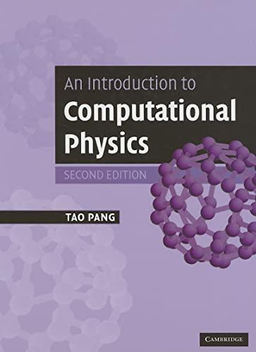 9780521825696: An Introduction to Computational Physics