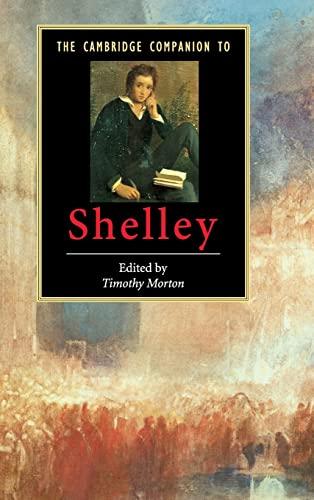 9780521826044: The Cambridge Companion to Shelley (Cambridge Companions to Literature)