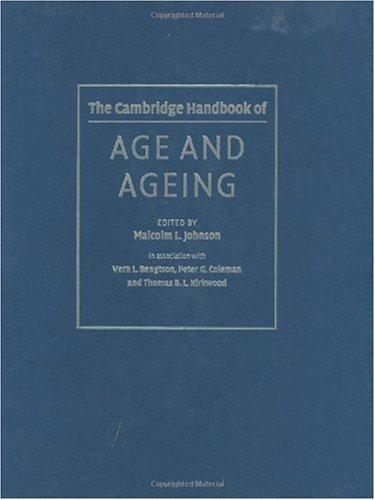 9780521826327: The Cambridge Handbook of Age and Ageing (Cambridge Handbooks in Psychology)