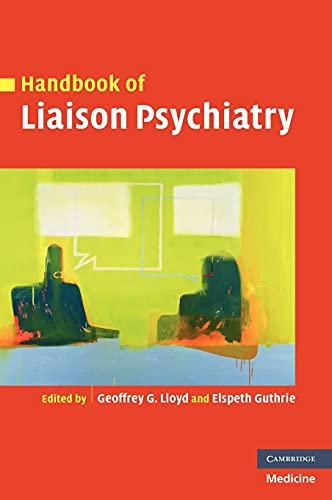 9780521826372: Handbook of Liaison Psychiatry