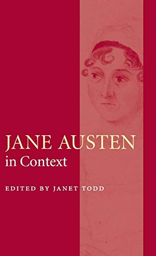 9780521826440: The Cambridge Edition of the Works of Jane Austen 9 Volume Hardback Set: Jane Austen in Context Hardback (Literature in Context)