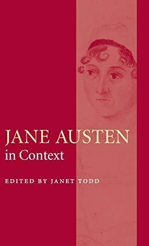 9780521826440: The Cambridge Edition of the Works of Jane Austen 9 Volume Hardback Set: Jane Austen in Context Hardback