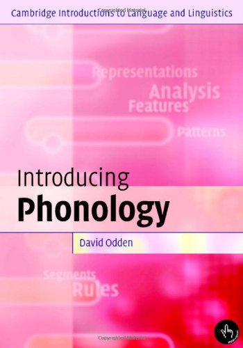 9780521826693: Introducing Phonology (Cambridge Introductions to Language and Linguistics)
