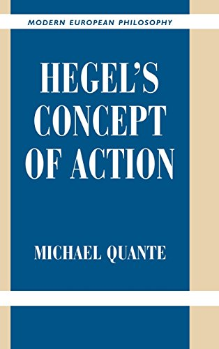 9780521826938: Hegel's Concept of Action (Modern European Philosophy)