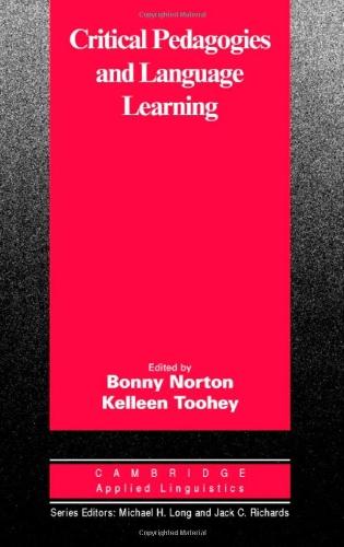 9780521828024: Critical Pedagogies and Language Learning (Cambridge Applied Linguistics)