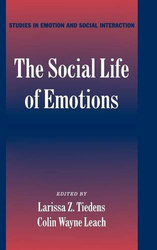 9780521828116: The Social Life of Emotions (Studies in Emotion and Social Interaction)