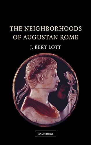 9780521828277: The Neighborhoods of Augustan Rome