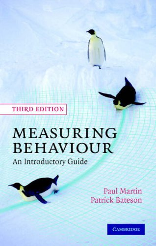 9780521828680: Measuring Behaviour: An Introductory Guide