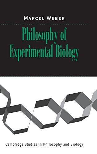 9780521829458: Philosophy of Experimental Biology (Cambridge Studies in Philosophy and Biology)