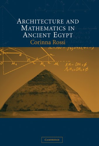 9780521829540: Architecture and Mathematics in Ancient Egypt