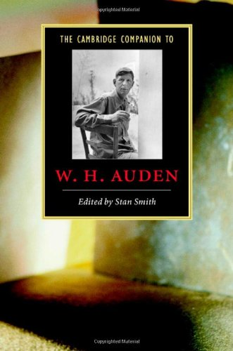 9780521829625: The Cambridge Companion to W. H. Auden (Cambridge Companions to Literature)