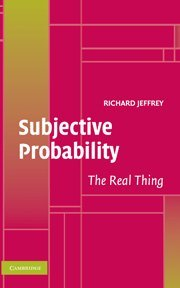 9780521829717: Subjective Probability Hardback: The Real Thing