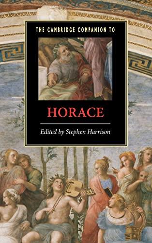 9780521830027: The Cambridge Companion to Horace Hardback (Cambridge Companions to Literature)