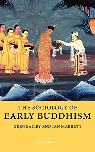 9780521831161: The Sociology of Early Buddhism