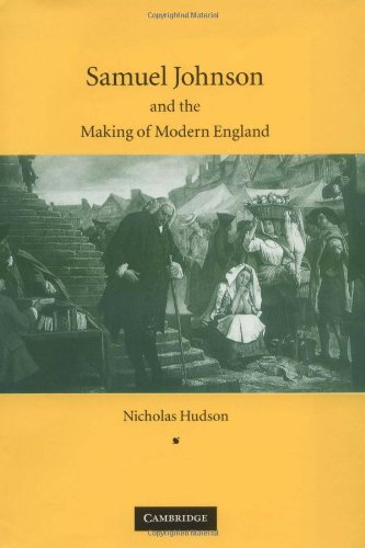 9780521831253: Samuel Johnson and the Making of Modern England