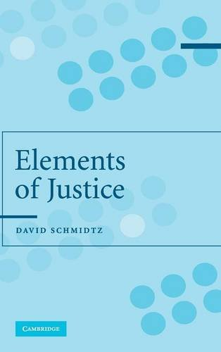 9780521831642: The Elements of Justice