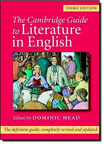 9780521831796: The Cambridge Guide to Literature in English