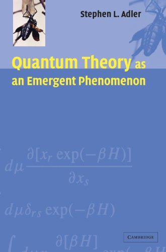 9780521831949: Quantum Theory as an Emergent Phenomenon: The Statistical Mechanics of Matrix Models as the Precursor of Quantum Field Theory