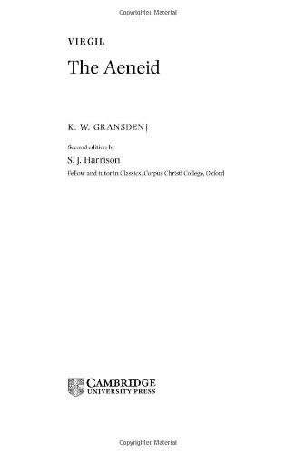 9780521832137: Virgil: The Aeneid (Landmarks of World Literature (New))