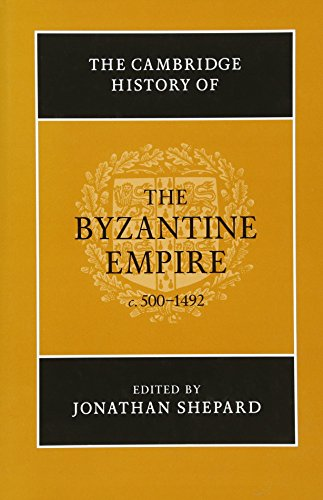 9780521832311: The Cambridge History of the Byzantine Empire c.500-1492