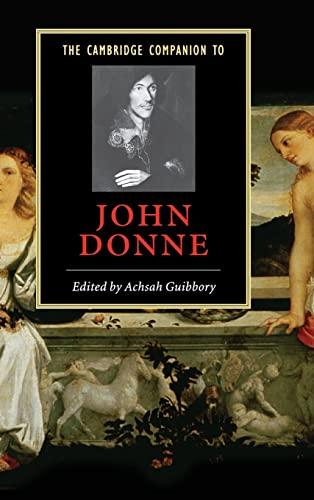 9780521832373: The Cambridge Companion to John Donne