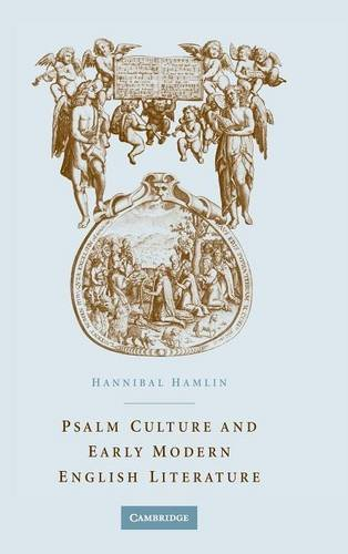 9780521832700: Psalm Culture and Early Modern English Literature