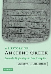 A History of Ancient Greek: From the