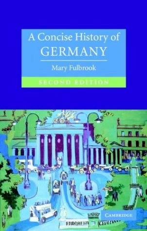 9780521833202: A Concise History of Germany (Cambridge Concise Histories)